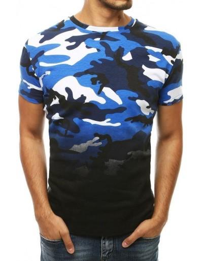 Modré pánské tričko RX4144