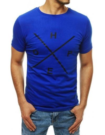 Pánské tričko s potiskem chrpy RX4147