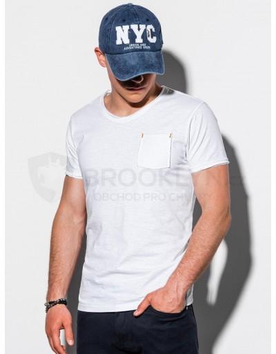 Men's plain t-shirt S1100 - white