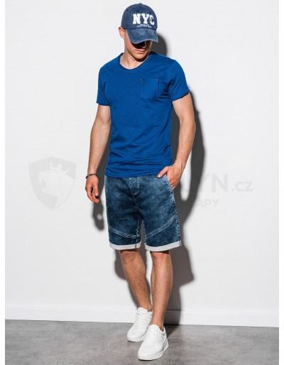 Men's plain t-shirt S1100 - navy