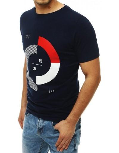 Pánské tmavě modré tričko RX4182