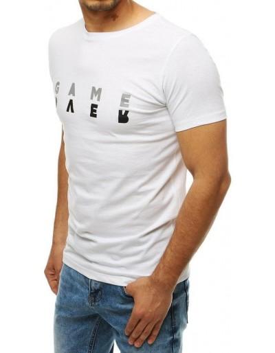 Bílé pánské tričko RX4184