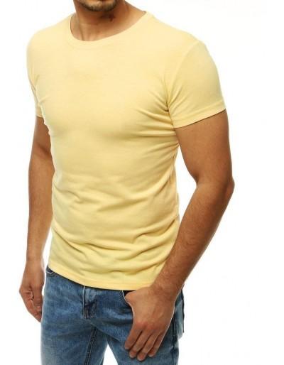 Světle žluté pánské tričko RX4188
