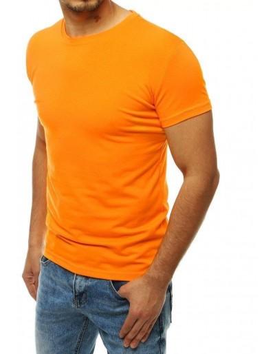 Světle oranžové pánské tričko RX4190