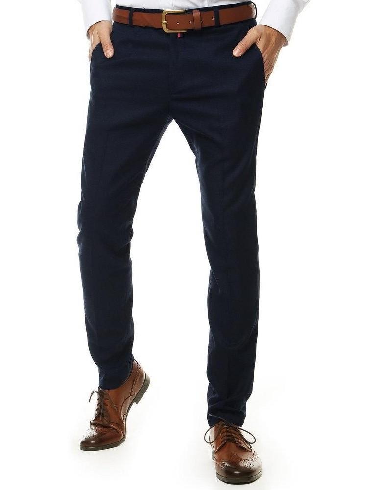 Tmavě modré pánské kalhoty UX2548