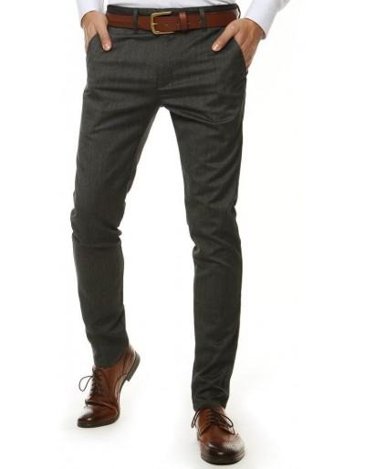 Tmavě šedé pánské kalhoty UX2550