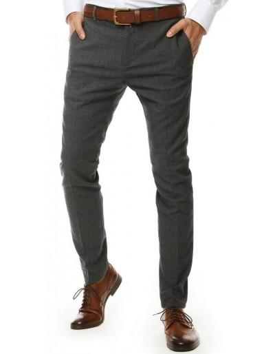 Tmavě šedé pánské kalhoty UX2551