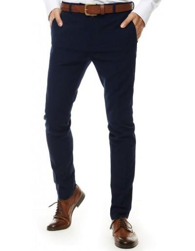 Tmavě modré pánské kalhoty UX2552