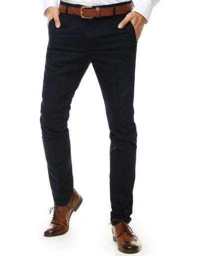 Tmavě modré pánské kalhoty UX2554