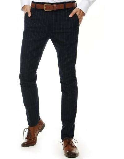 Tmavě modré pánské kalhoty UX2557