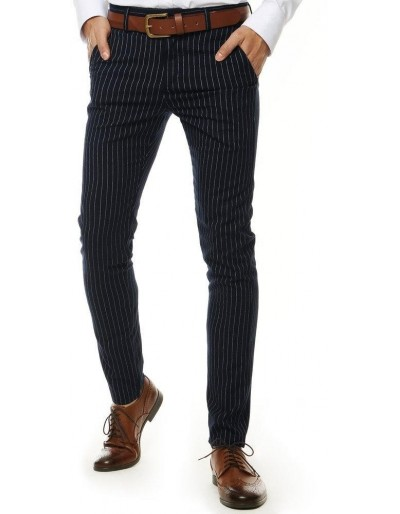 Tmavě modré pánské kalhoty UX2558