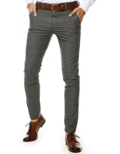 Světle šedé pánské kalhoty UX2559
