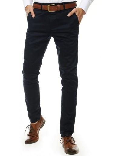 Tmavě modré pánské kalhoty UX2560