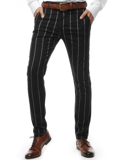 Černé pánské kalhoty UX2562