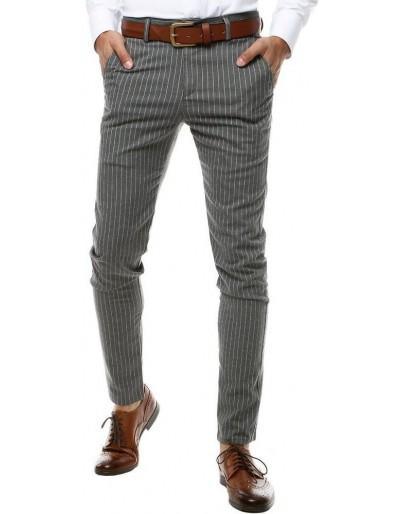 Tmavě šedé pánské kalhoty UX2564