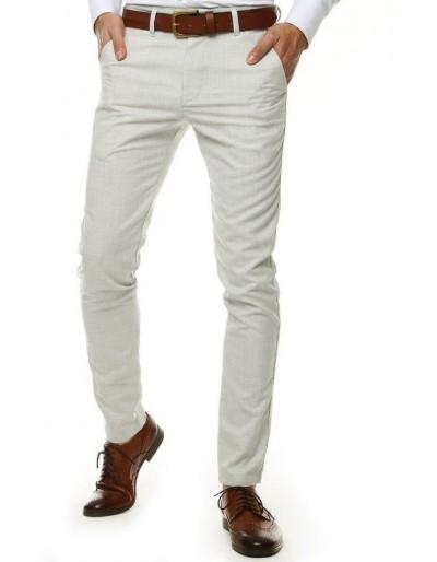 Světle šedé pánské kalhoty UX2567