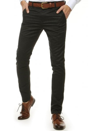 Grafitové pánské kalhoty UX2570