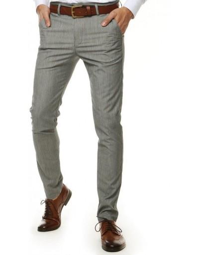 Světle šedé pánské kalhoty UX2571