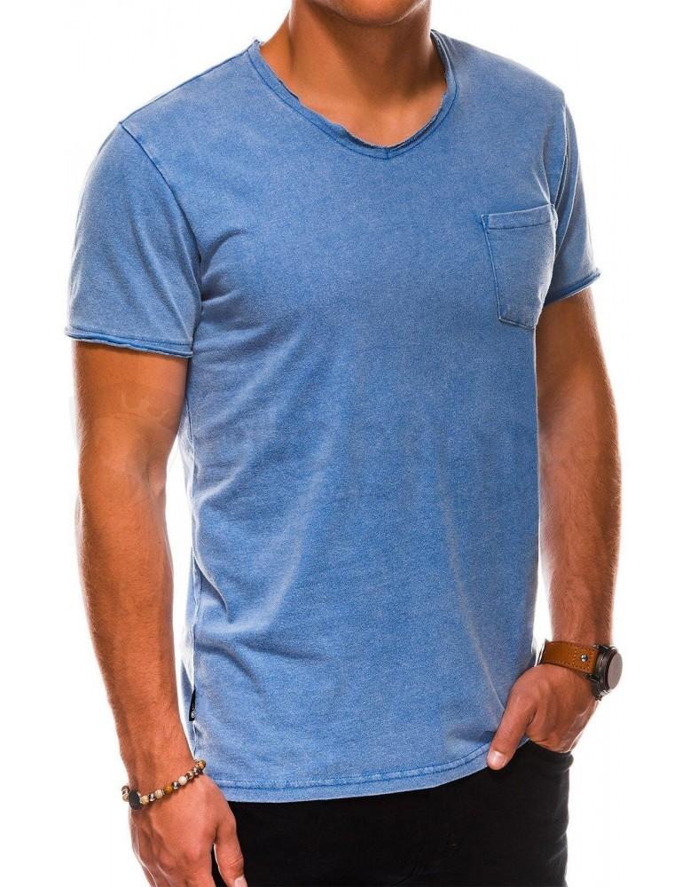 Pánské obyčejné tričko S1037 - námořnictvo