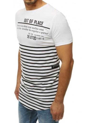 Bílé pánské tričko RX4214