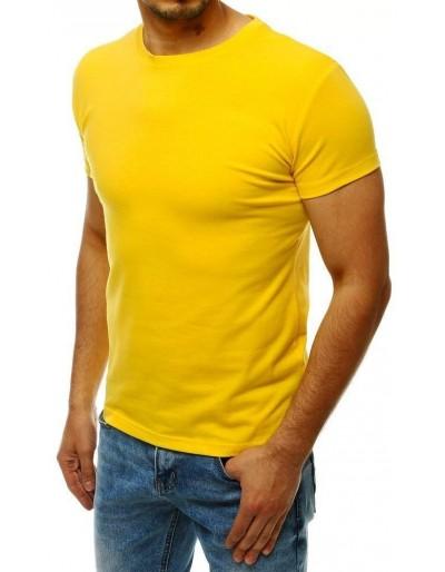 Žluté pánské obyčejné tričko RX4215