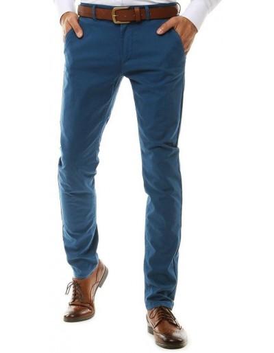 Modré pánské chino kalhoty UX2575