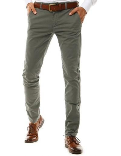 Šedé pánské chino kalhoty UX2576