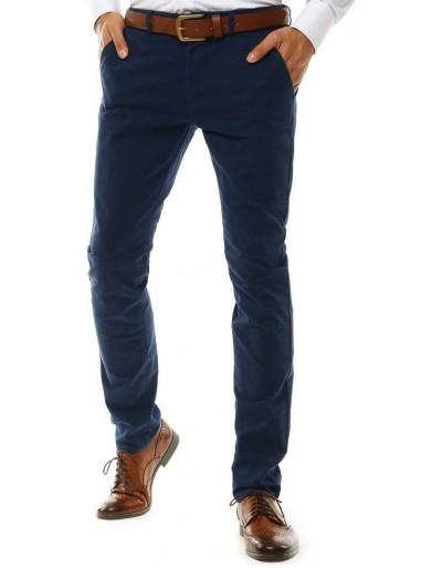 Pánské tmavě modré chino kalhoty UX2577