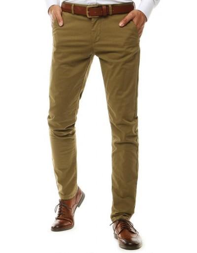 Pánské velbloudí kalhoty chino UX2578