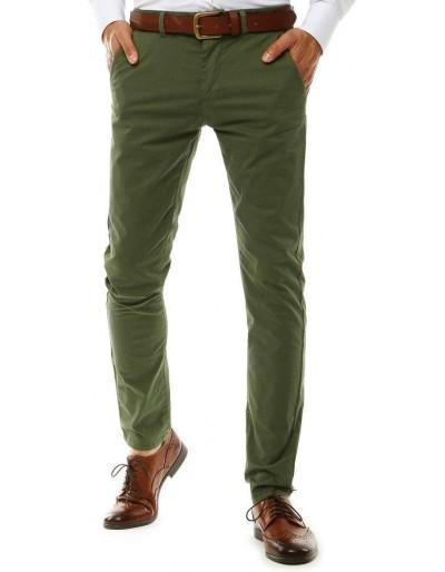 Zelené pánské chino kalhoty UX2579