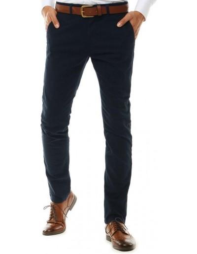 Pánské tmavě modré chino kalhoty UX2582