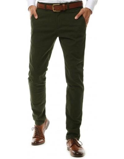 Zelené pánské chino kalhoty UX2584