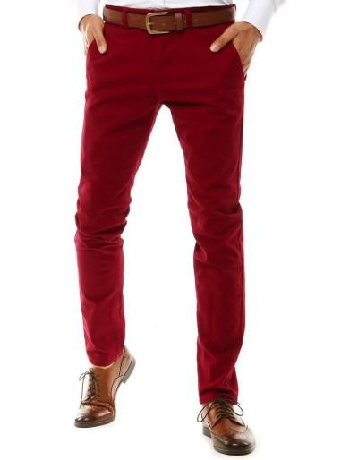 Červené pánské chino kalhoty UX2585