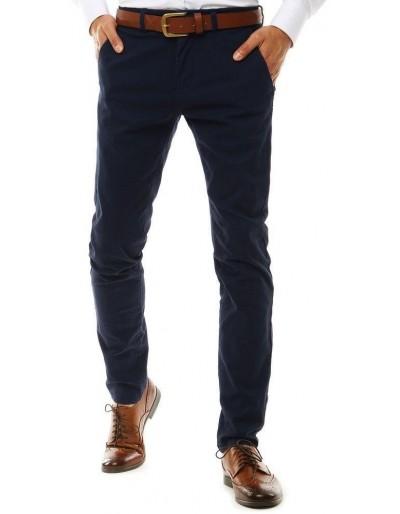 Pánské tmavě modré chino kalhoty UX2586
