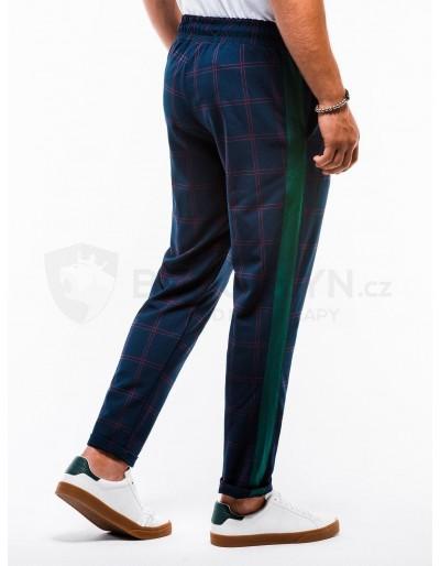 Men's pants chinos P851 - navy
