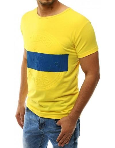 Žluté pánské tričko RX4224