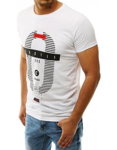 Bílé pánské tričko RX4226 s potiskem