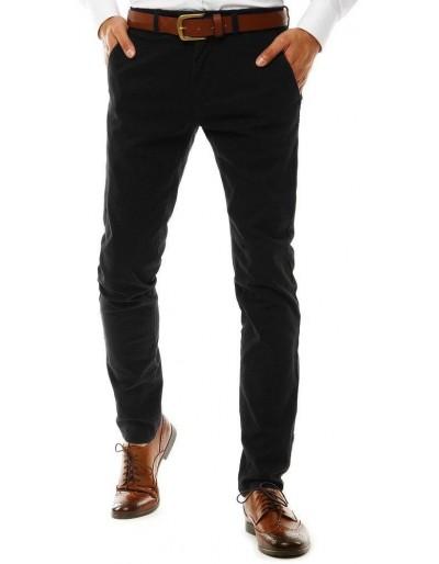 Černé pánské chino kalhoty UX2594