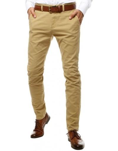 Pánské béžové chino kalhoty UX2597