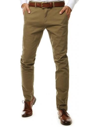 Pánské kalhoty velbloudí chino UX2599