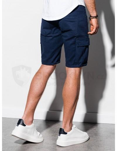Men's cargo shorts W133 - navy