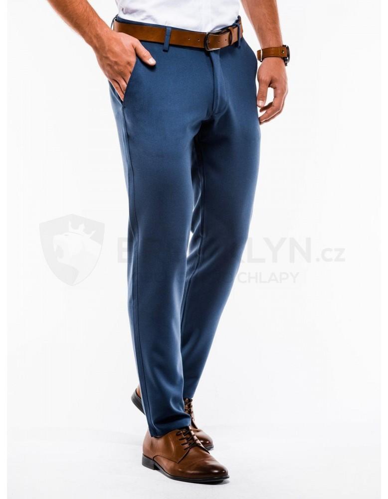 Pánské kalhoty chinos P832 - modré