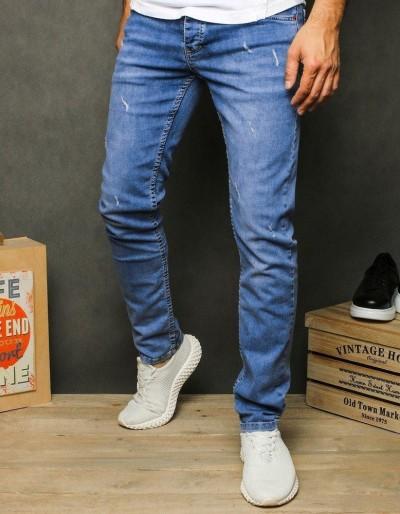 Pánské modré džínové kalhoty UX2601