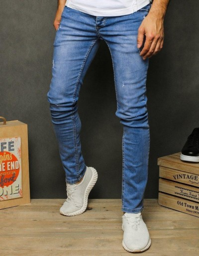 Pánské modré džínové kalhoty UX2602