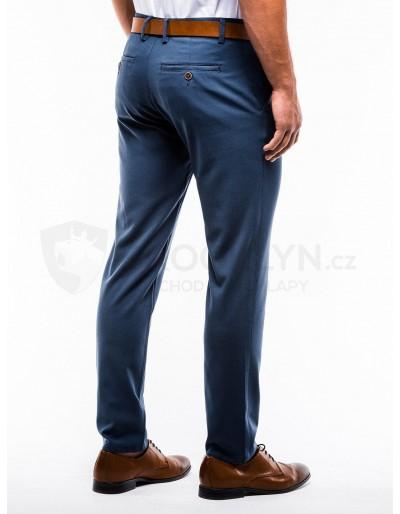 Men's pants chinos P832 - blue