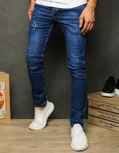 Pánské modré džínové kalhoty UX2603