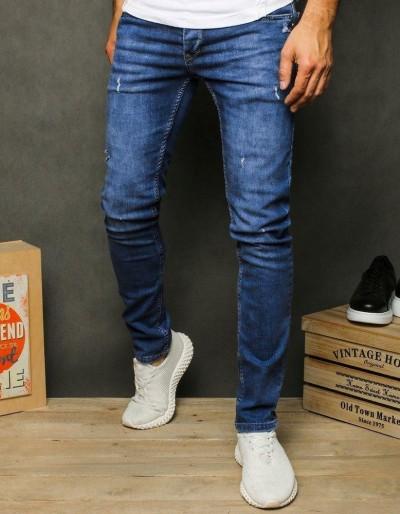Pánské modré džínové kalhoty UX2604