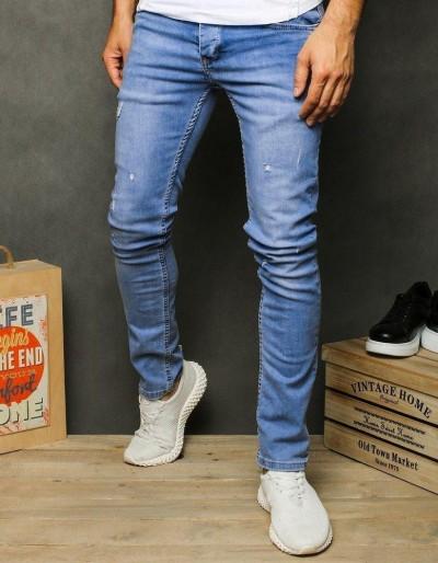 Pánské modré džínové kalhoty UX2605