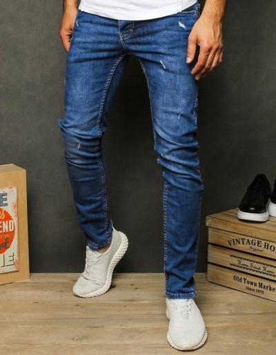 Pánské modré džínové kalhoty UX2606