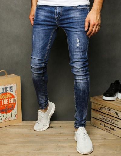 Pánské modré džínové kalhoty UX2612